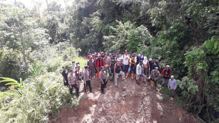 Oknum Satpam PT BDL di Bolmong Terekam Video Lepaskan Tembakan Pakai Senapan Rakitan