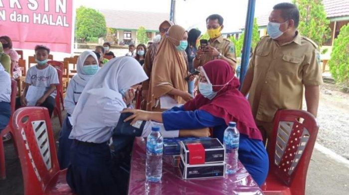 Vaksinasi Anak Usia 12-17 Tahun di Bolmong Resmi Dimulai, Renty Harap Semua Siswa Bisa Ambil Bagian