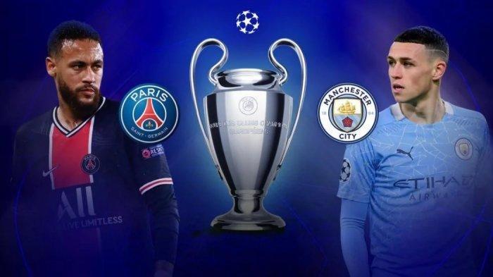 Live Streaming PSG vs Man City, Matchday Kedua Grup A Liga Champions, Link Akses Nonton di Sini
