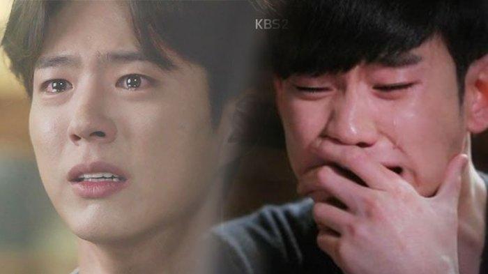 ilustrasi Drama Korea yang dramatis
