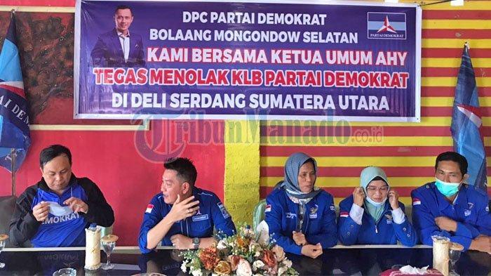 Pintu Maaf Terbuka Bagi Kader Yang Membelot ke Moeldoko, Pernyataan DPC Partai Demokrat Bolsel