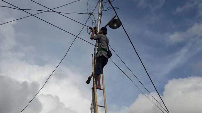 Pemkab Gelontorkan Rp 2,6 Miliar untuk Pemasangan Lampu Jalan