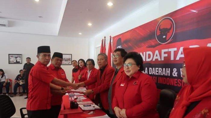 Pasangan Berkah Tanpa Pesaing Mendaftar di PDIP Sulut