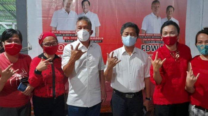 Hasil Sementara Pilkada Minsel, FDW - PYR Masih Tetap Memimpin