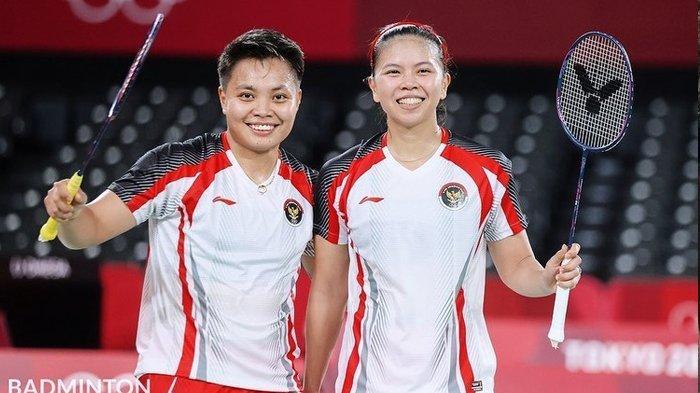 Greysia Polii dan Apriyani Rahayu Juara, Indonesia Dapat Medali Emas Pertama Olimpiade Tokyo