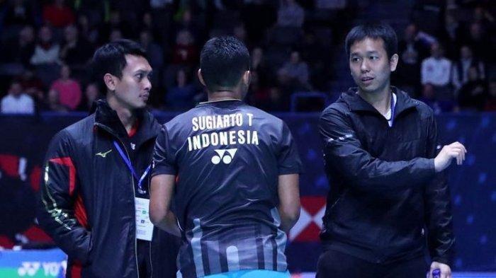 Hasil Indonesia Open 2019 - Chen Long Kalahkan Wakil Indonesia Tommy Sugiarto