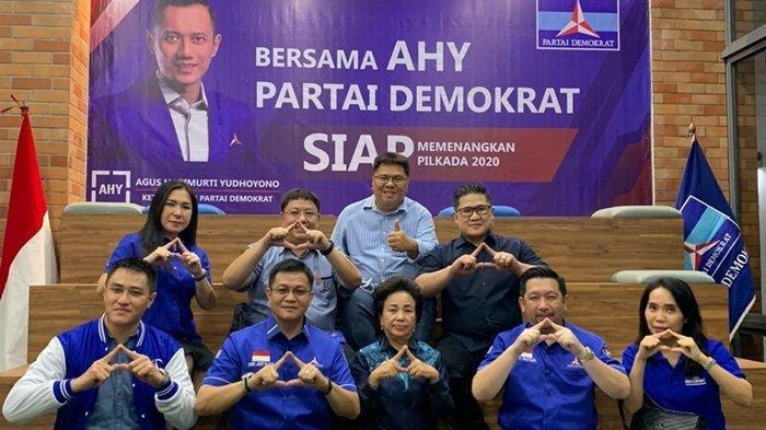 Mor-HJP Amankan 'Tiket' Maju Pilkada Manado, Kantongi SK Demokrat