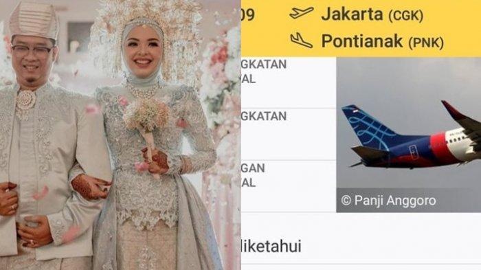 Ihsan dan Putri, Penumpang Sriwijaya Air Jatuh, Ternyata Baru Nikah, Ini Cerita Keluarga