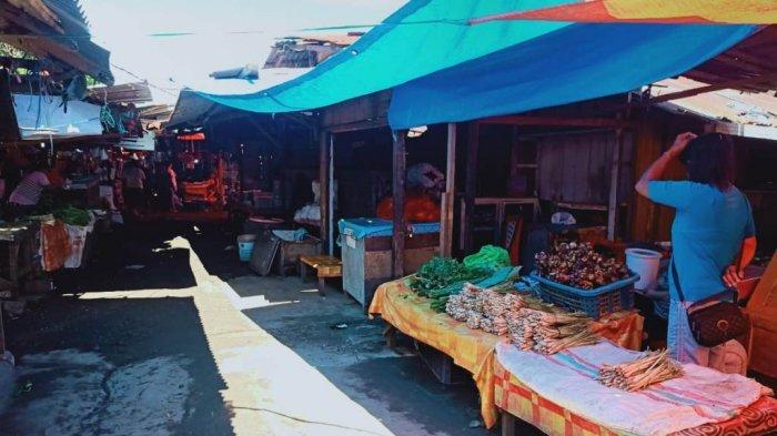 Harga Beras di Pasar 54 Amurang Stabil, Dinas Perdagangan Terus Awasi Bahan Pokok