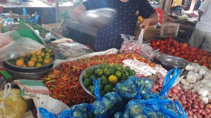 Cabai Rawit di Pasar Inobonto Sentuh Harga Rp 100 Ribu Per-Kilogram