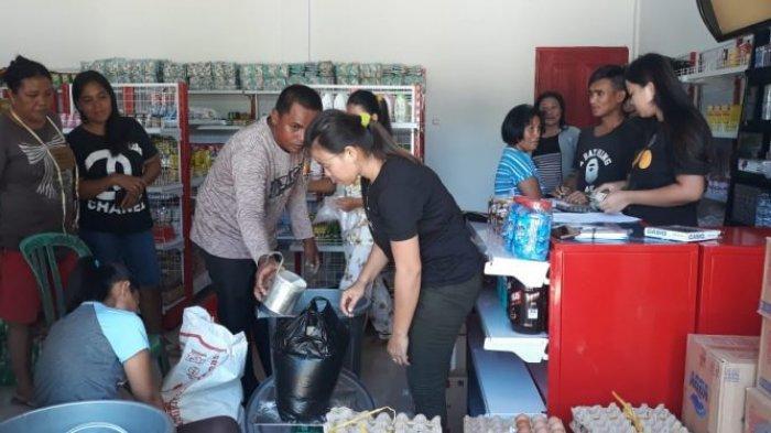 Jelang Idul Fitri, BUMDes Karya Mandiri Desa Torosik Gelar Pasar Murah
