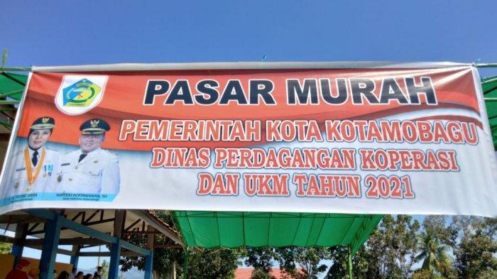 Disdagkop-UKM Kota Kotamobagu Gelar Pasar Murah Di Bulan Ramadan