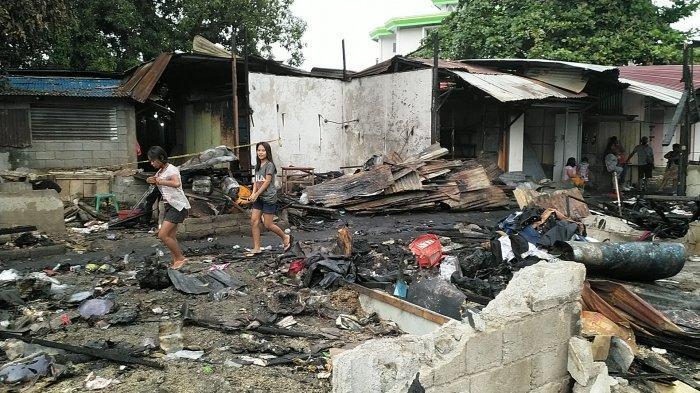 Korban Kebakaran Pasar Paniki Berharap Pasar Segera Dibangun Kembali