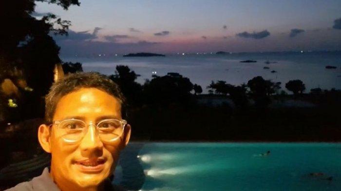 Pasca-Pilpres, Sandiaga Pamer Sunsetdi Kabupaten Ini dan Ikut Ajang Olahraga Bergengsi