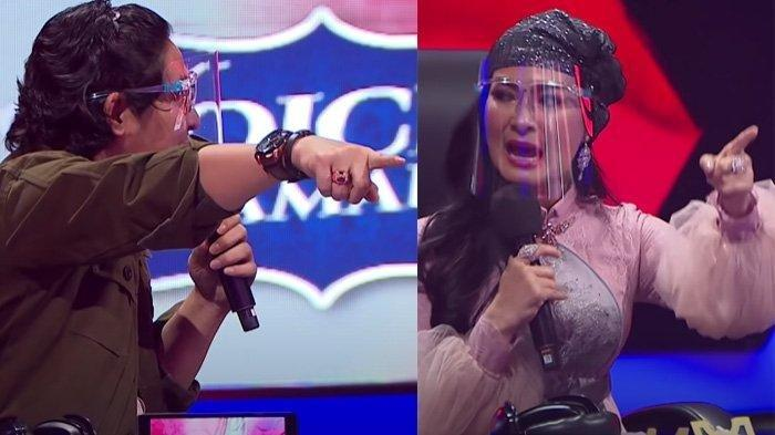 Pasha Ungu debat panas dengan Iis Dahlia di atas panggung Voice of Ramadan 2021
