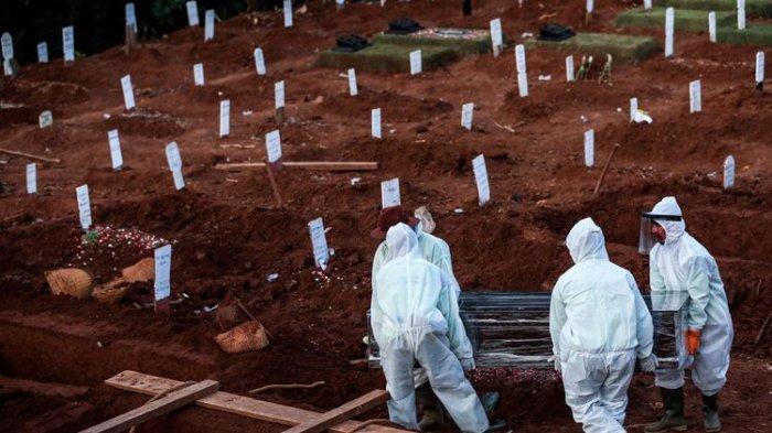 UPDATE Kasus Kematian akibat Covid-19 Kamis 9 September 2021: Bertambah 334, Total Kini 136.116 Jiwa