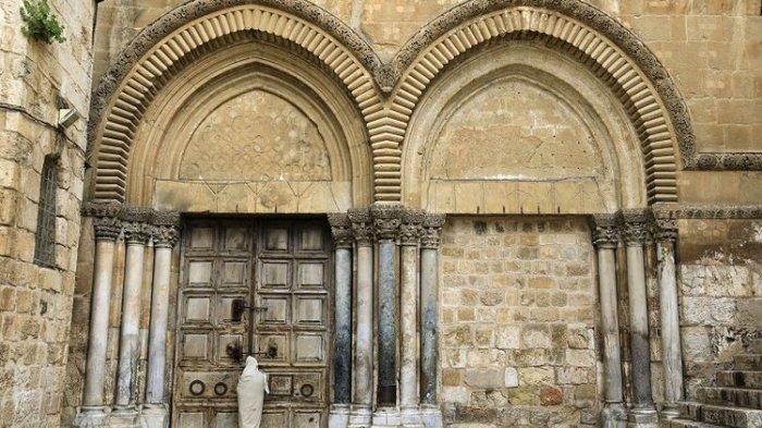 Paskah di Yerusalem Terasa Muram AkibatPandemi Covid-19,Gereja the Holy Sepulchre Tetap Dibuka