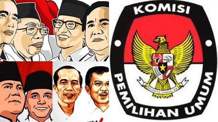 Perbandingan Hasil Perolehan Suara Jokowi & Prabowo Pilpres 2014 vs 2019 Beserta Isu Kecurangannya