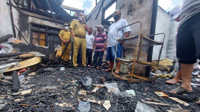 Pastori GPdI Eklesia di Bitung Terbakar, Hanya Tersisa Pakaian di Badan Gembala Jitro dan Keluarga