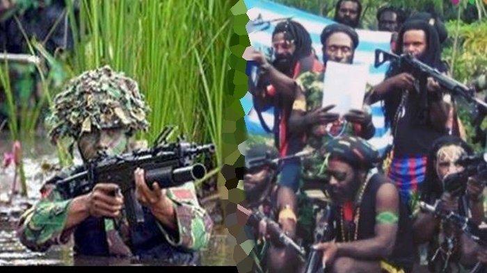 Aparat dan Puluhan Anggota KKB Papua Saling Kontak Senjata 2 Jam, Paksa Masuk Distrik Ilaga