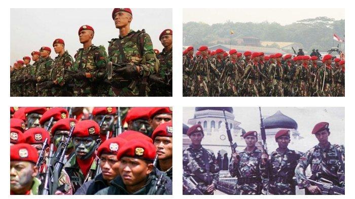 Pasukan Kopassus Republik Indonesia