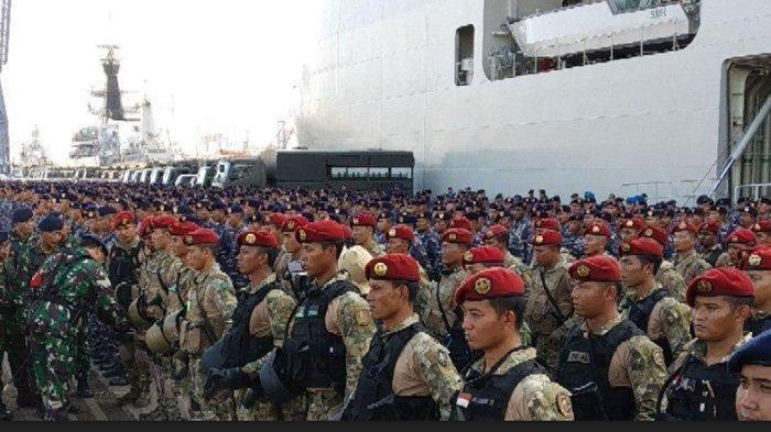 Sebanyak 1.700 Personel TNI Dikerahkan untuk Kawal Pemilu 2019
