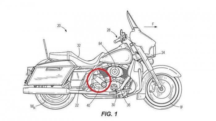 Paten Harley-Davidson Bocor, Ketahuan sedang Kembangkan Mesin Supercharger, Tingkatkan Pembakaran