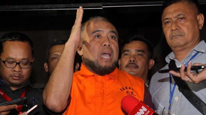Hakim MK <a href='https://manado.tribunnews.com/tag/patrialis-akbar' title='PatrialisAkbar'>PatrialisAkbar</a> ditangkap KPK