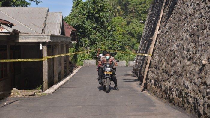 Bencana Alam Karangetang, Petugas Keamanan Kesulitan Awasi Ternak Warga