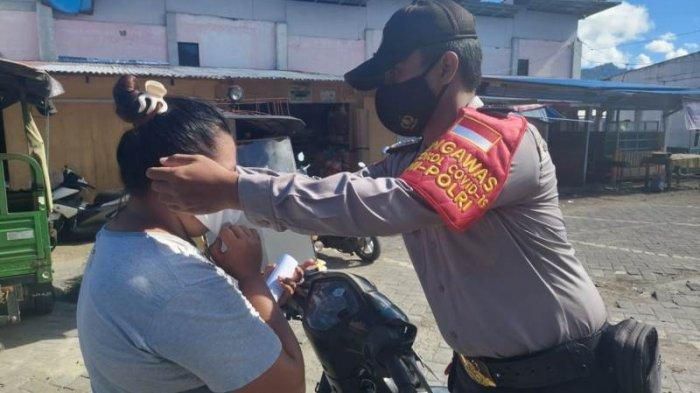 Operasi Yustisi Polsek Beo Talaud, Warga Diimbau Patuhi Protokol Kesehatan