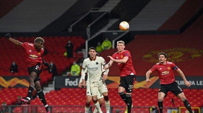 Hasil Liga Eropa Manchester United vs AS Roma, MU Menggila Bantai Roma 6-2, Satu Kaki di Laga Final