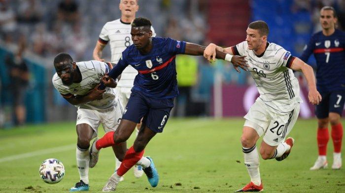 KOMENTAR Paul Pogba Usai Prancis Kalahkan Jerman, Eks Gelandang Juventus Jadi Pemain Terbaik
