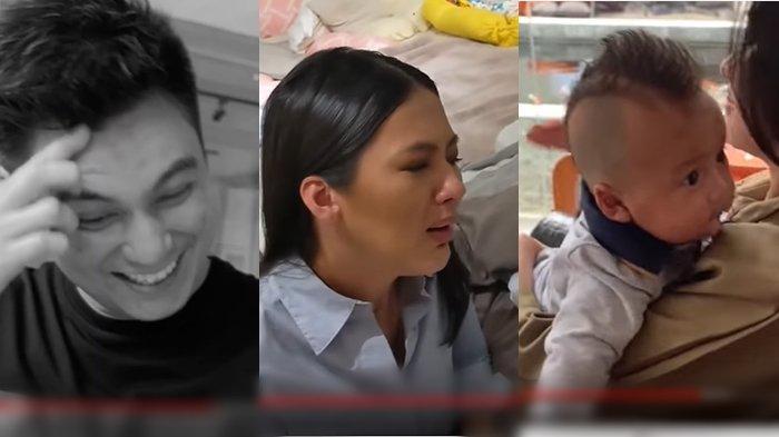 VIDEO Baim Wong Ajak Anaknya Main Tik Tok, Saat Lihat Aksi Itu Paula Verhoeven Langsung Lakukan Ini