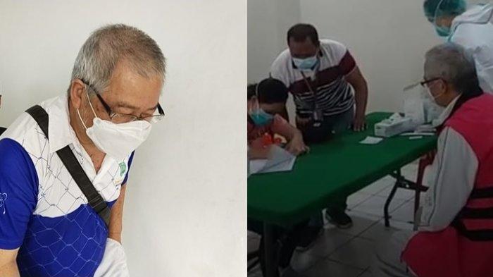 Terpidana Korupsi Solar Cell Paulus Iwo Jalani Pemeriksaan di Kejari Manado