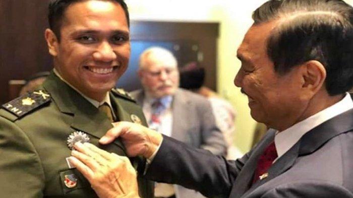 Sosok Mayor TNI Paulus Pandjaitan, Anak Menko Luhut, Eks Seskoad AS Jadi Kopassus, Karir Mentereng