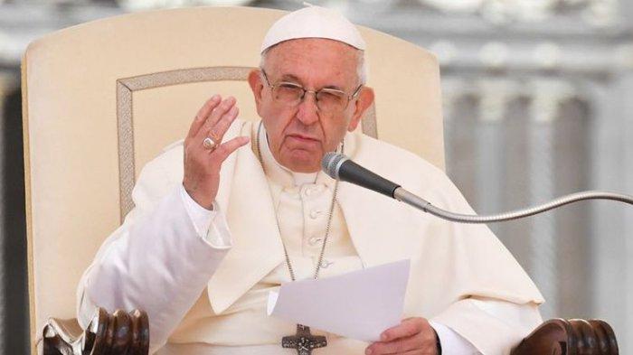Paus Fransiskus Berikan Pesan Khusus Pada Brasil Usai Terdepak dari Piala Dunia 2018