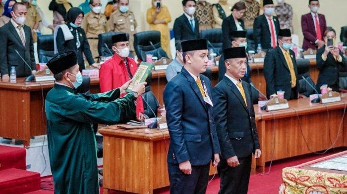 Dyas Potabuga dan Mahrin Lolung Resmi Jadi Aleg DPRD Bolmong