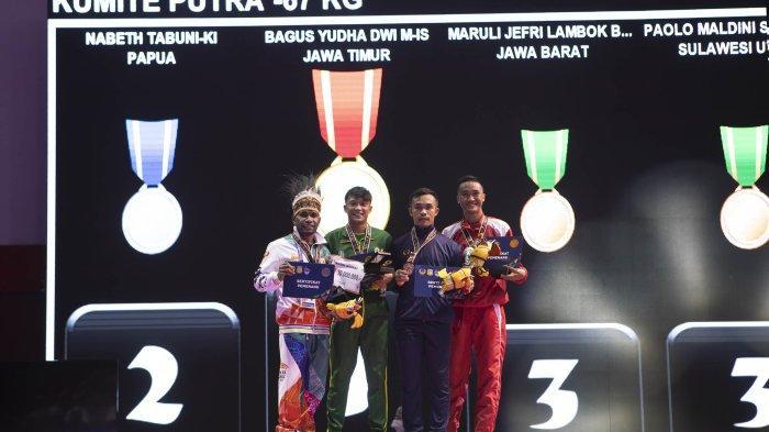 Paolo Maldini Sumbang Medali Perunggu untuk Sulut dari Nomor Kumite 67 Kg PON XX Papua