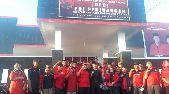 PDI Perjuangan All Out Menangkan OD-SK di Pilgub Sulut