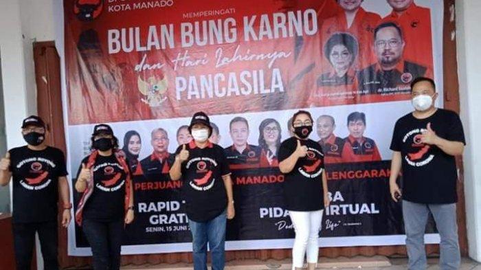 Peringati Bulan Bung Karno, PDIP Manado Gelar Rapid Test Gratis