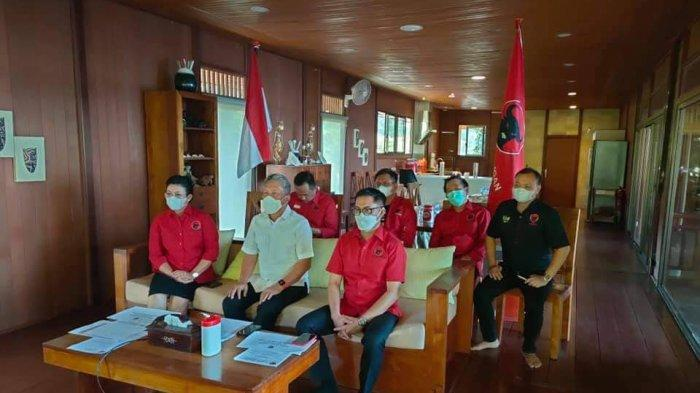 PDIP se-Nusa Utara Gelar Rakercab Virtual Serentak, Mindo Sianipar Beri Arahan Kader