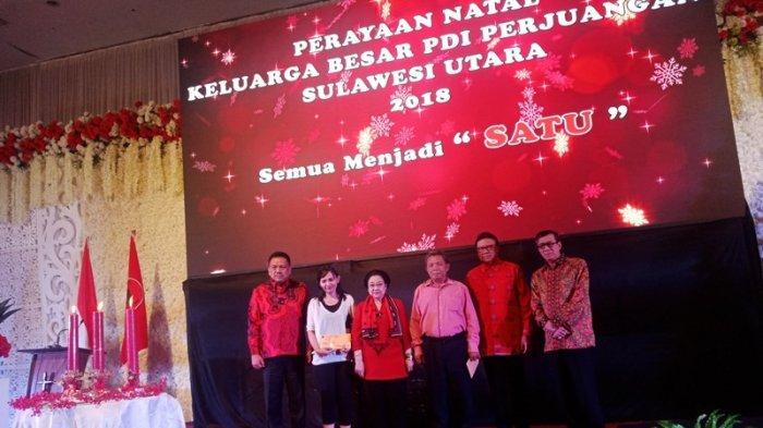 Tim Kampanye Daerah Jokowi-Ma'aruf di Sulut, Gelar Nonton Bareng Debat Perdana