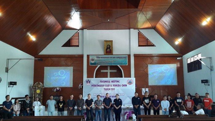 Ini Pesan-Pesan Pendeta dalam Ibadah Sebelum Technical Meeting PKPG 2019