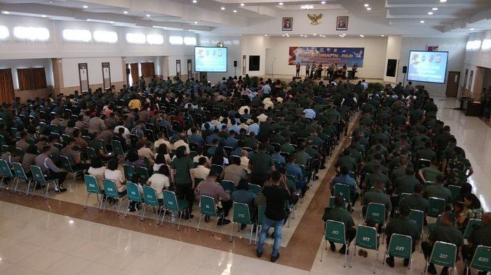 Pdt Gilbert Lumoindong Pimpin Ibadah Oikumene TNI Polri