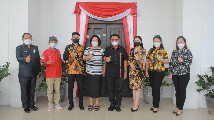 Ardwin Silap dan Febiola Suling, Promosikan Tempat Wisata Bitung di Ajang Nyong Noni Sulut