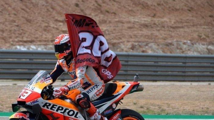 Sukses Raih Juara Dunia MotoGP 2019, Marc Marquez Masih Punya Banyak Hal yang Dia Incar
