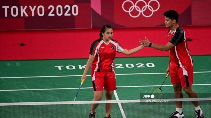 Hasil Bulutangkis Olimpiade Tokyo 2021, Laga Berlangsung Sengit, Praveen/Melati Kalahkan Denmark
