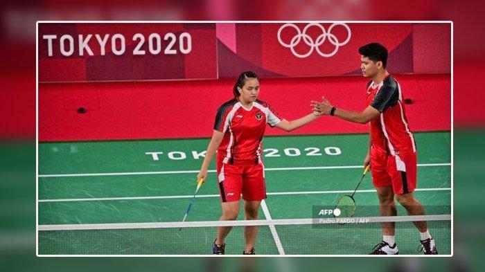 Praveen Jordan/Melati Daeva Menang Dua Set, Hasil Bulutangkis Olimpiade Tokyo Minggu 25 Juli 2021