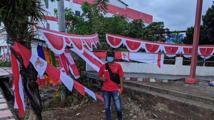 Kisah Penjual Bendera Merah Putih di Mitra Selama Masa Pandemi: Merugi Hingga 50 Persen