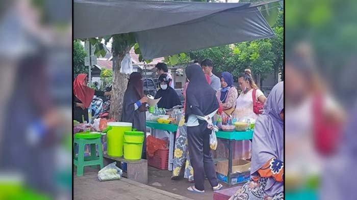 Curahan Hati Pedagang di Lapangan Molinow, Ummi Salsa Ingin Jualan Lagi